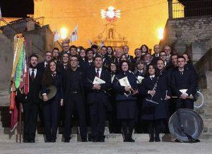 La Banda, a punt per a la processó de Bellpuig del 2016