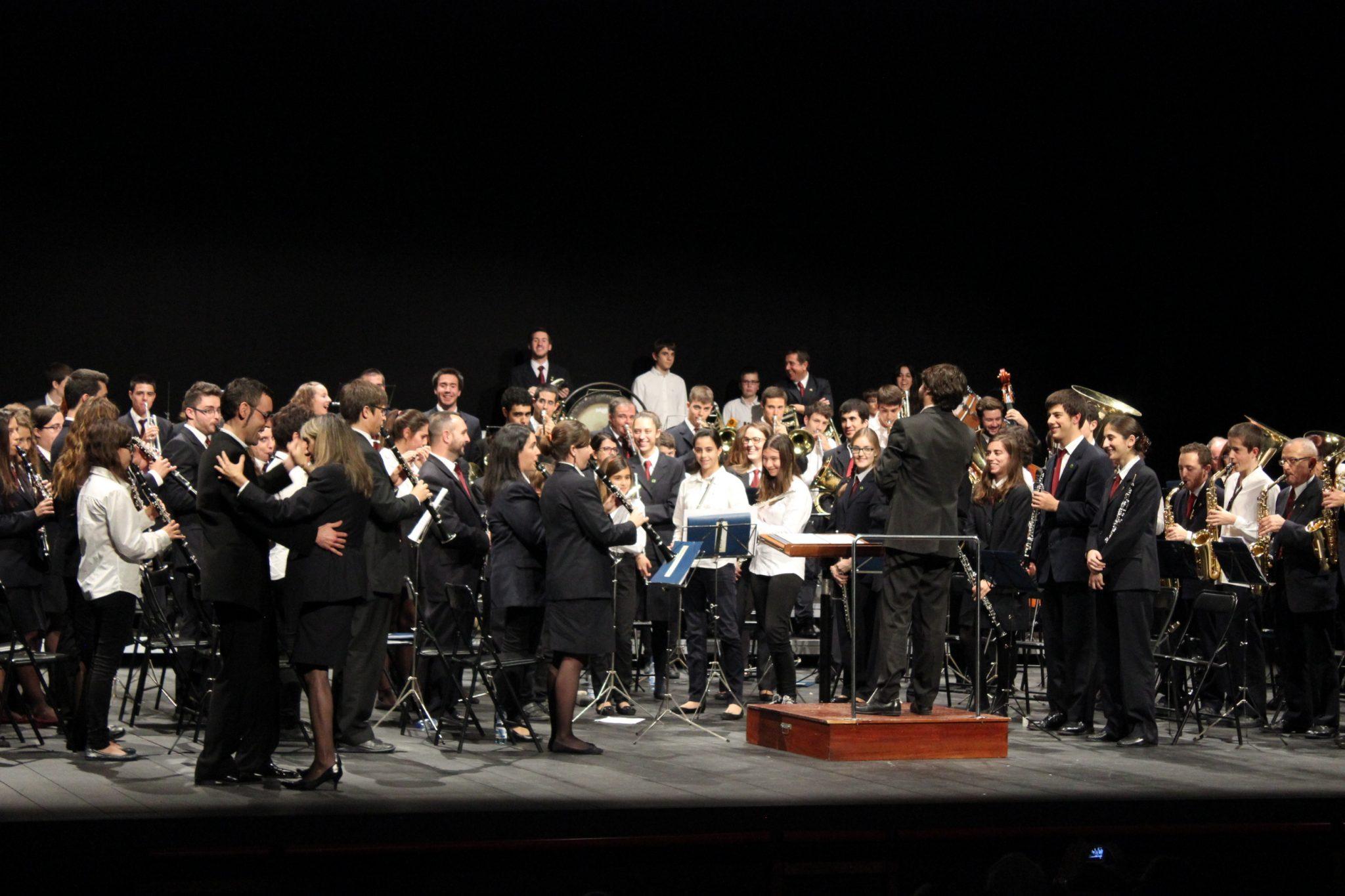 Foto d'arxiu del concert de Santa Cecília 2014